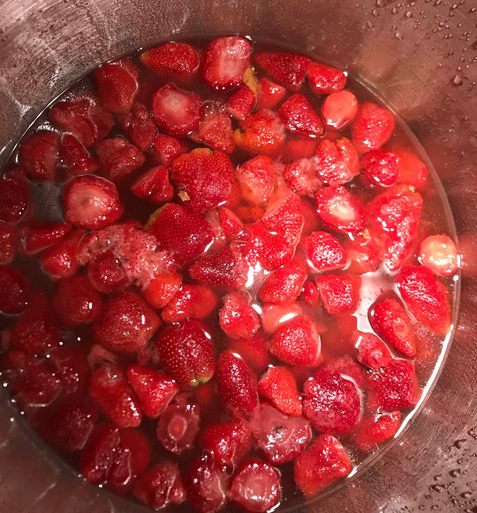 Peachberry Jelly - Adam's Garden of Eatin'